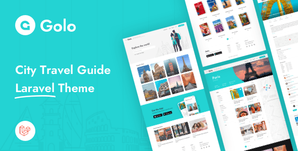 , Golo – City Travel Guide Laravel Theme, Laravel & VueJs, Laravel & VueJs
