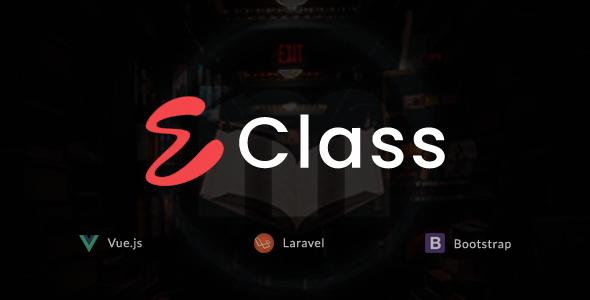 , eClass – Learning Management System, Laravel & VueJs