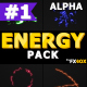 Cartoon Energy Charges | Motion Graphics Pack