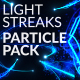 Light Streaks Particle Pack