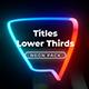 Neon Light Titles 6