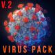 Virus pack. Coronavirus