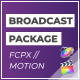 FCPX Broadcast Motion Pack