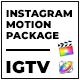 Clouder - FCPX Motion Pack for IGTV Instagram