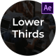 Clean Business Lower Thirds