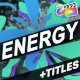 Energy And Titles | FCPX