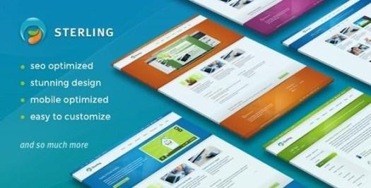 Sterling - WordPress réactif