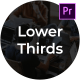 Clean Business Lower Thirds - For Premiere Pro