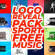 Logo Reveal Pack-Sport-Free Music