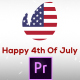 Fresh & July 4th Patriotic Logo Opener - Premiere Pro