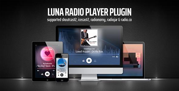 HTML5 MP3 Radio FM MP3 Stream Player