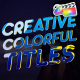 Creative Colorful Titles | FCPX