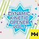 The Dynamic Kinetic Opener Volume 1