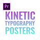 Kinetic Typography Posters