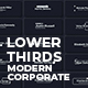 Lower Thirds Modern Corporate