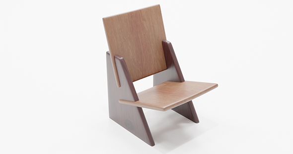 Armchair wooden chair