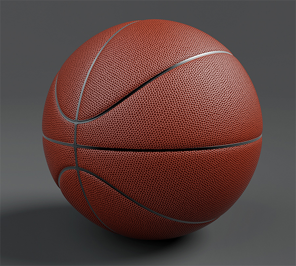 Basketball 3d Model