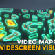 Neon Shapes Widescreen