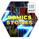 Comics Instagram Stories - MOGRT
