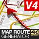 Map Route Generator