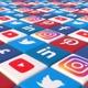 Social Media Blocks Background- Version 3