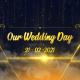 Golden Elegant Wedding Slide
