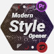 Modern Style Opener