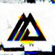 Glitch Shapes Logo