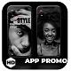App Promo Dark Style