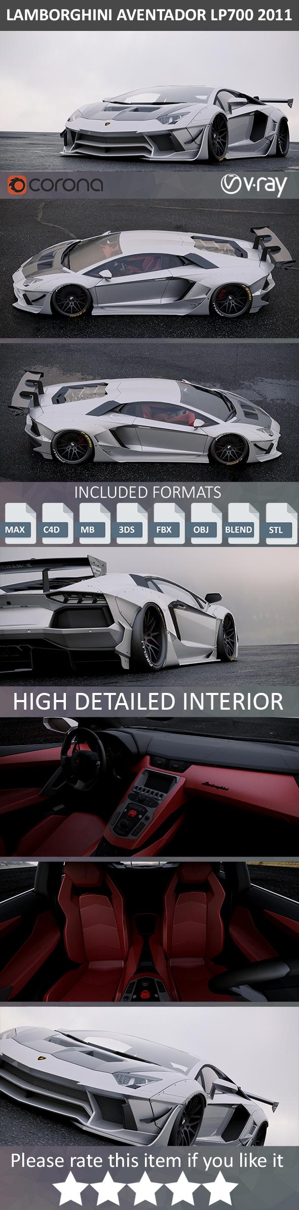 Lamborghini Aventador Custom 2011