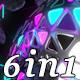 Pulse Light - VJ Loop Pack (6in1)