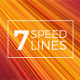 7 Speed Lines Backgrounds