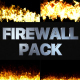 Fire Walls Pack | FCPX