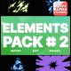 Energy Elements Pack 02 | Motion Graphics