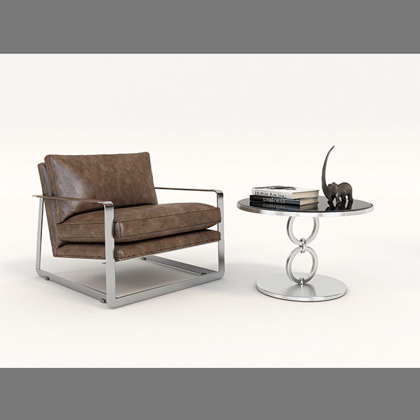 Modern Comfortable Reading Chair
