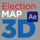 United States Election Map 3D