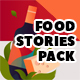 Food Instagram Stories and Posts Pack