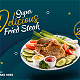 Short Food Promo Display