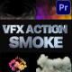 VFX Action Smoke | Premiere Pro MOGRT