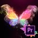Colorful Butterfly Logo Reveal 4k- Premiere Pro