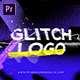 Glitch Grunge Distortion Logo Intro