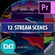 Stream Scenes | Premiere Pro MOGRT