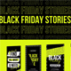 Stories Black Friday Instagram NEON