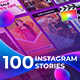 100 Instagram Stories | For Final Cut & Apple Motion