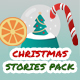 Christmas and New Year Sale Stories Pack