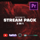 Stream Gaming Pack for Premiere Pro