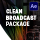Clean Broadcast Package