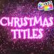 Christmas Magic Titles | FCPX