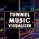 Futuristic Tunnels Music Visualizer/Audio Reactor