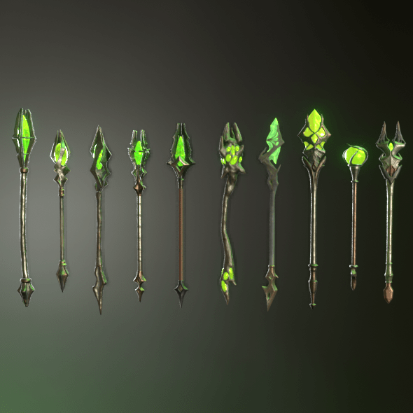 Fantasy staff pack02